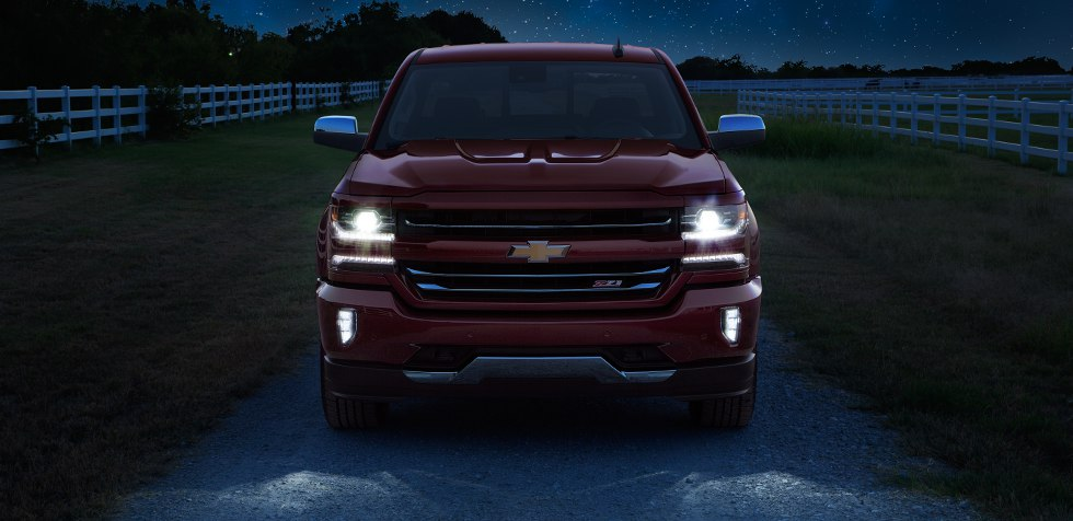 2017 Chevrolet silverado high country pickup nachtzicht
