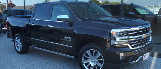 Chevrolet Silverado High Country design