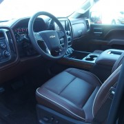 Chevrolet Silverado High Country interieur