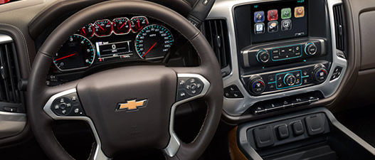 Chevrolet Silverado High Country technologie