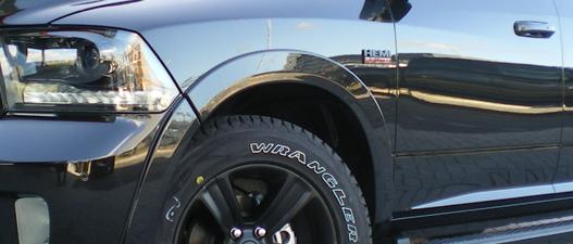 Dodge Ram 1500 night edition parkeer sensoren