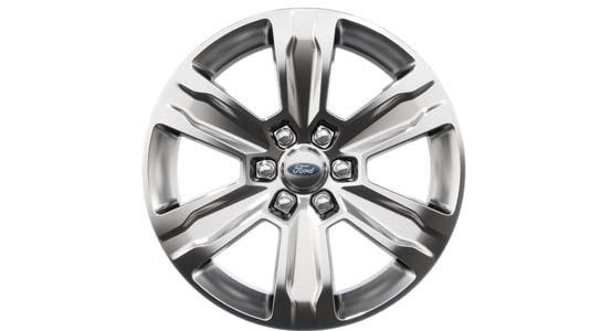 Ford F-150 gepolijste 20 inch wielen