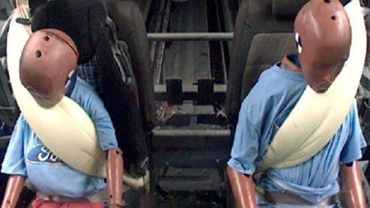Ford F-150 veiligheids gordels met airbag