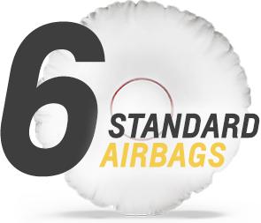 standaard 6 airbags Chevrolet Silverado